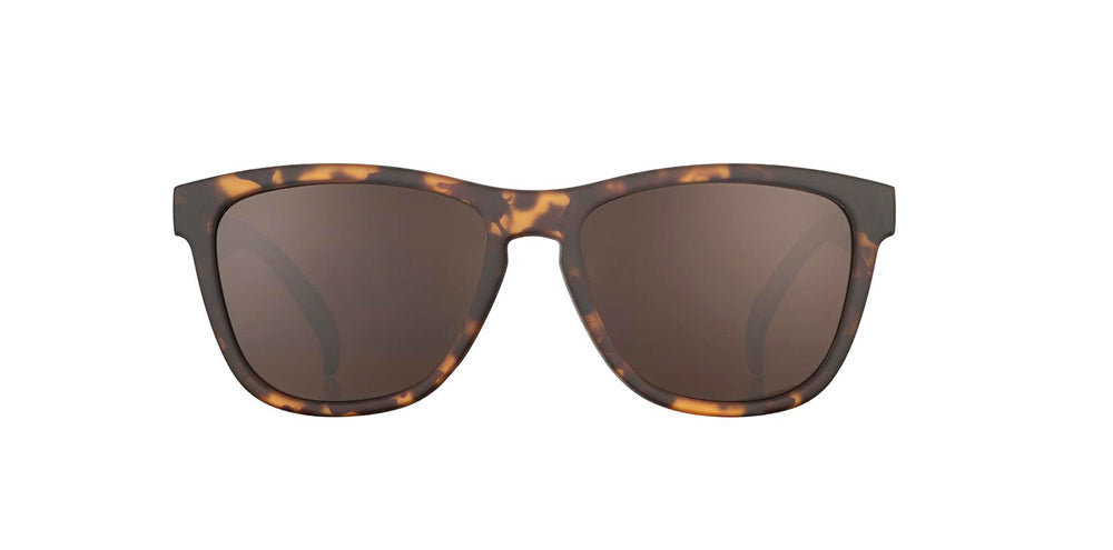 Tortoiseshell goodr sunglasses - The OGs - Front View