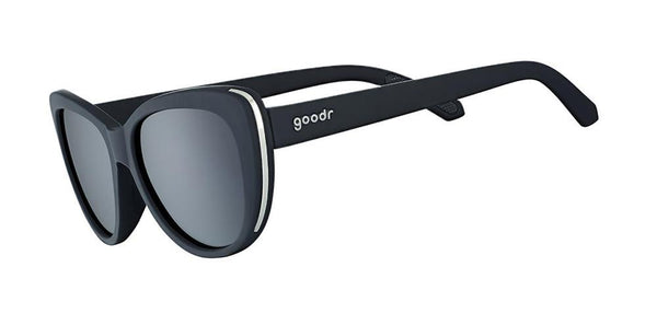 Black Cateye goodr - Runways - Side View