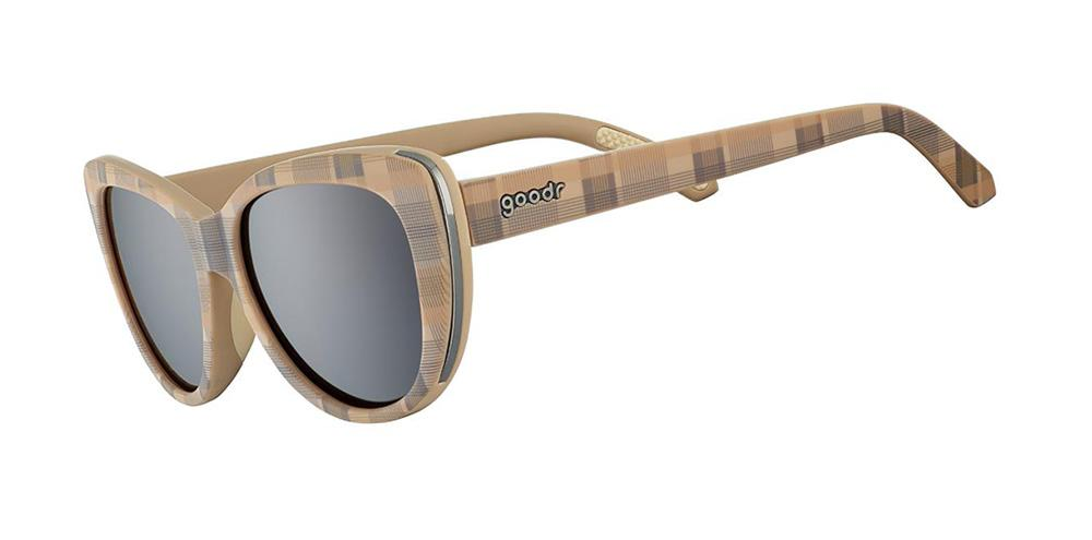 Plaid Golf Cateye goodr - Runways - Side View