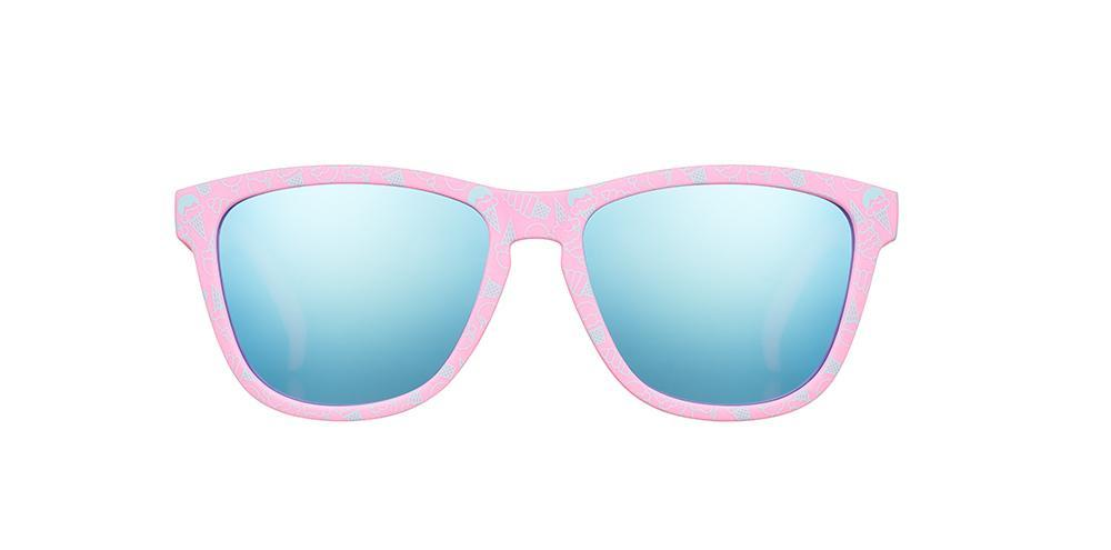 Sunnies with a Chance of Sprinkels - The OGs - goodr sunglasses front view