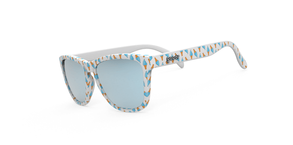 Goodr Eyes Scream for Ice Cream Polarised Running Sunglasses