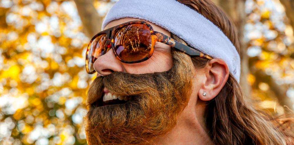 Goodr UK Sports Sunglasses – Shaves Legs, Grows Beard.