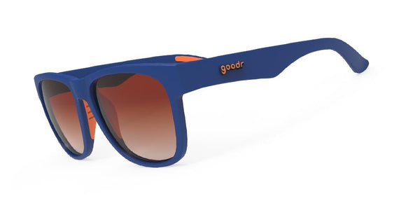 Goodr Farmer Von's Triple Pump Running Sunglasses Side View