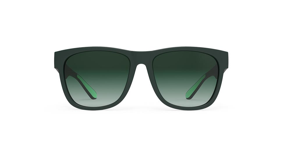 Goodr Mint Julep Electroshocks  Running Sunglasses Front View