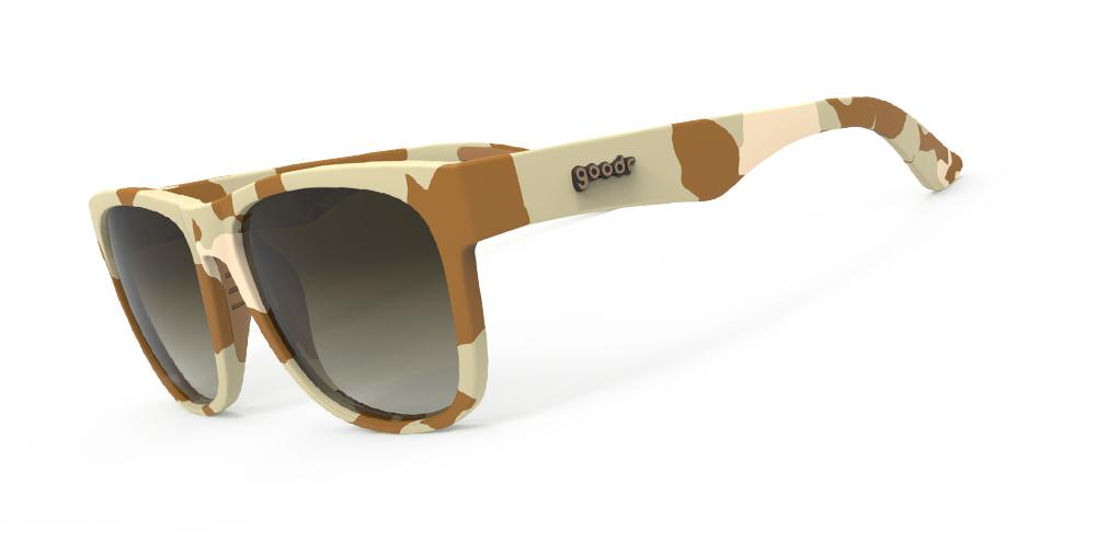 Goodr Sunglasses WOD (Walruses of the Desert) Side View