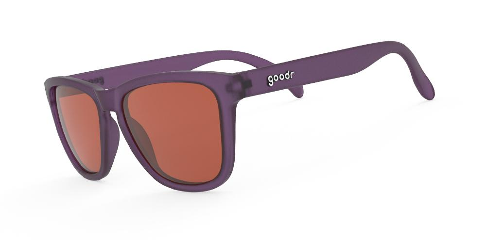 Goodr Figment's Desert Tears Running Sunglasses Side View