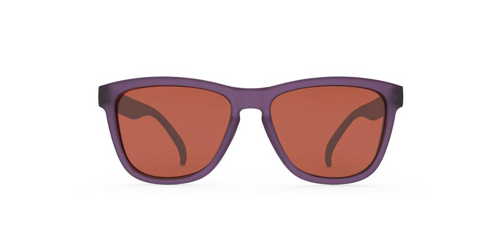 Goodr Figment's Desert Tears Running Sunglasses Front View