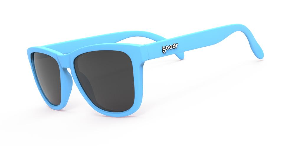 Goodr Frank's Llama Land Ditty Running Sunglasses Side View