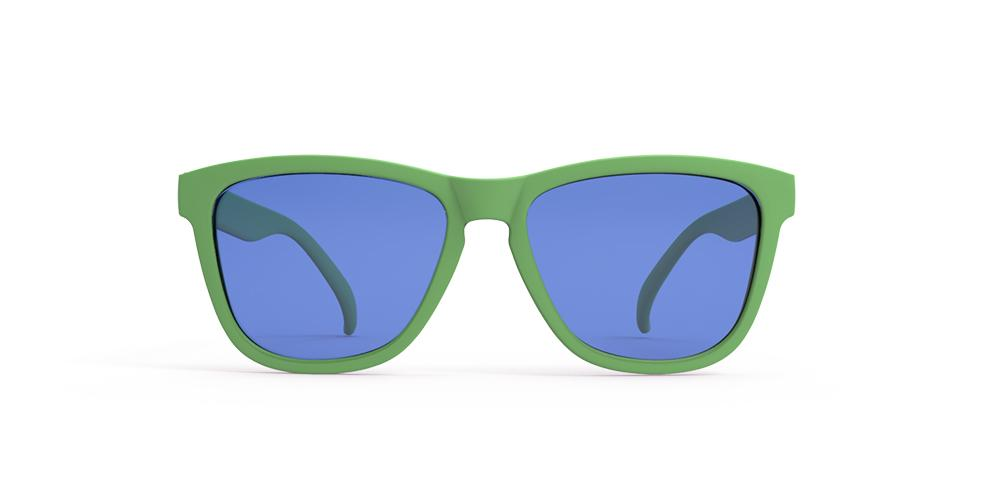 Goodr Sunglasses –  Gangrene Runner's Toe Front View