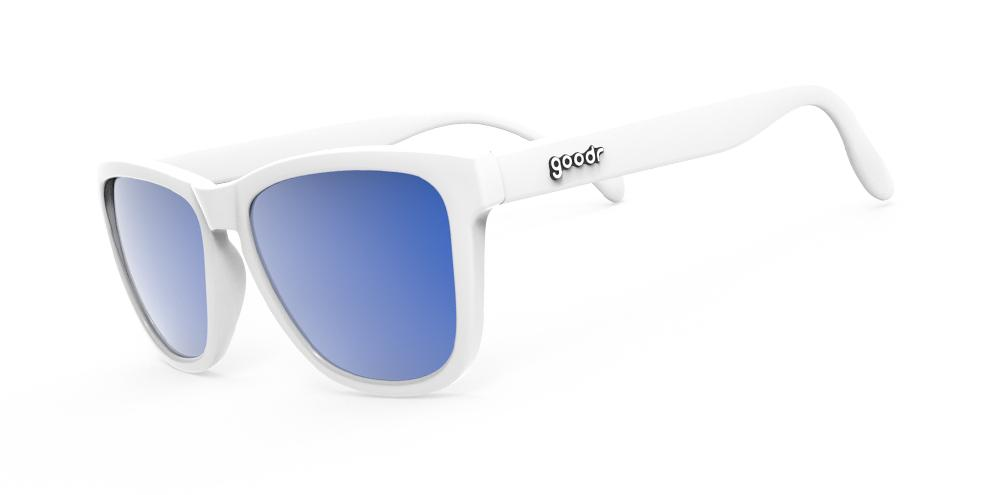 Goodr Iced by Yetis Polarised Running Sunglasses Side View