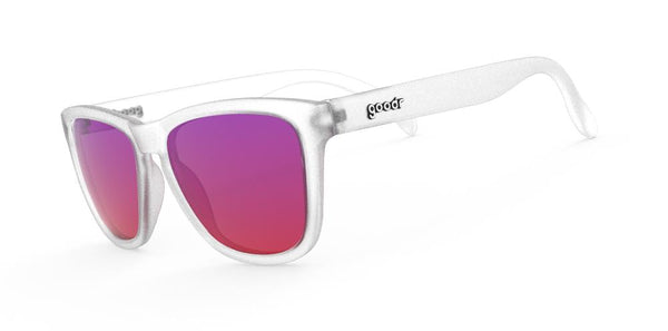 "Goodr Sunglasses – Sunset ""Squishee"" Brain Freeze Side View"