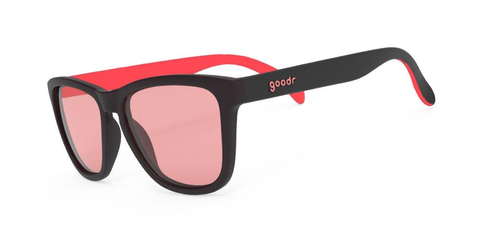 Goodr Tiger Blood Transfusion Golf Sunglasses