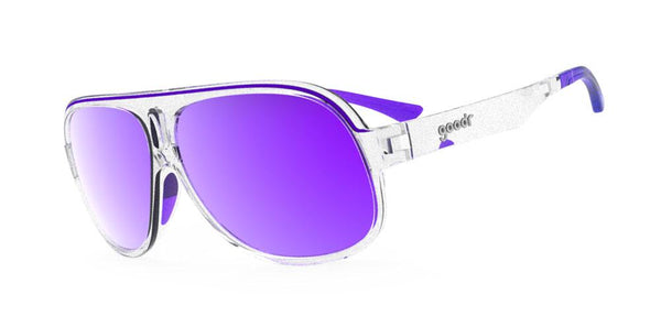 Goodr Sleazy Rider Polarised Cycling Sunglasses Side View