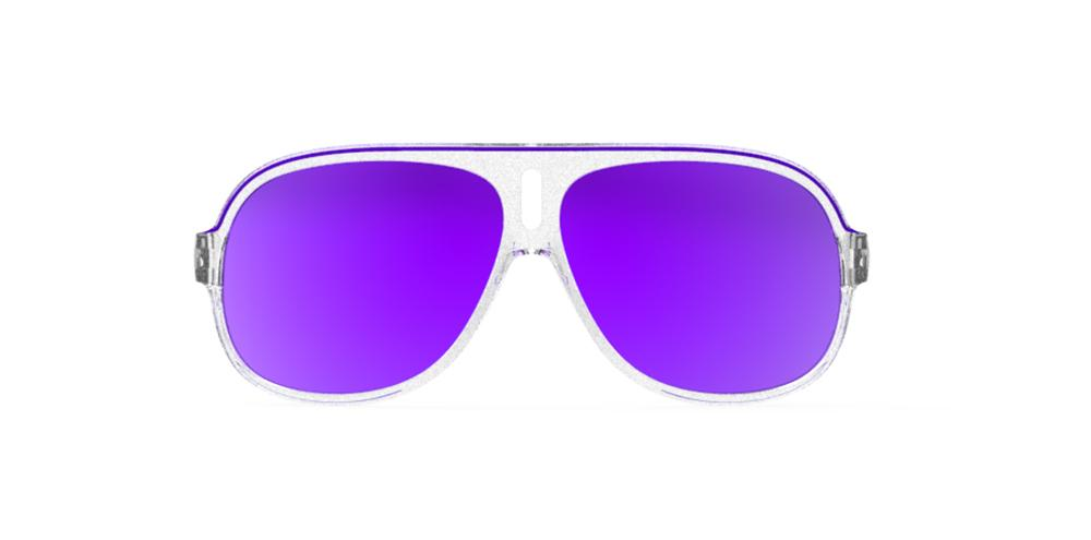 Goodr Sleazy Rider Polarised Cycling Sunglasses Front View