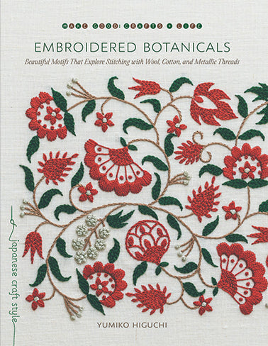 Embroidered Botanicals