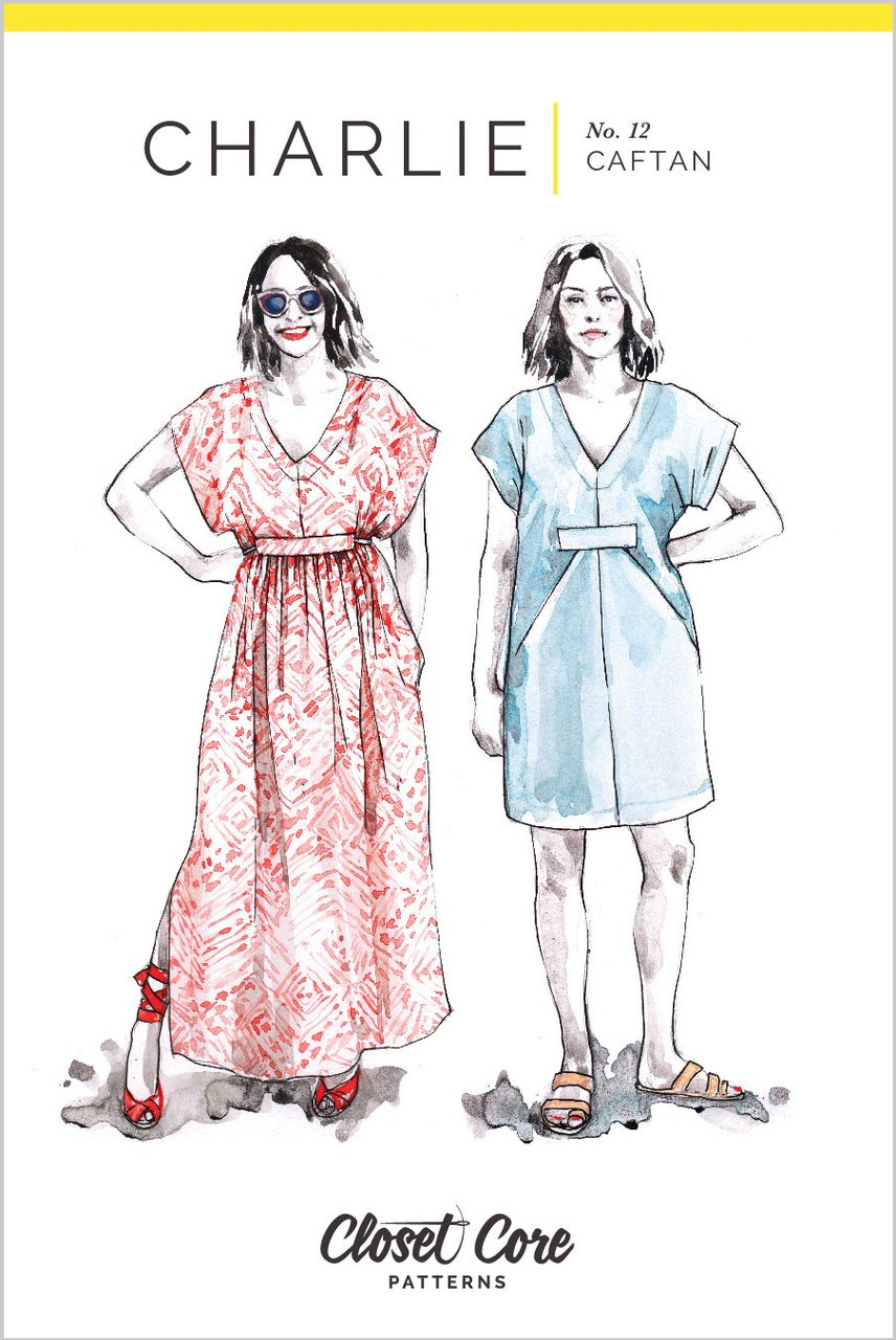 Charlie Caftan Sewing Pattern