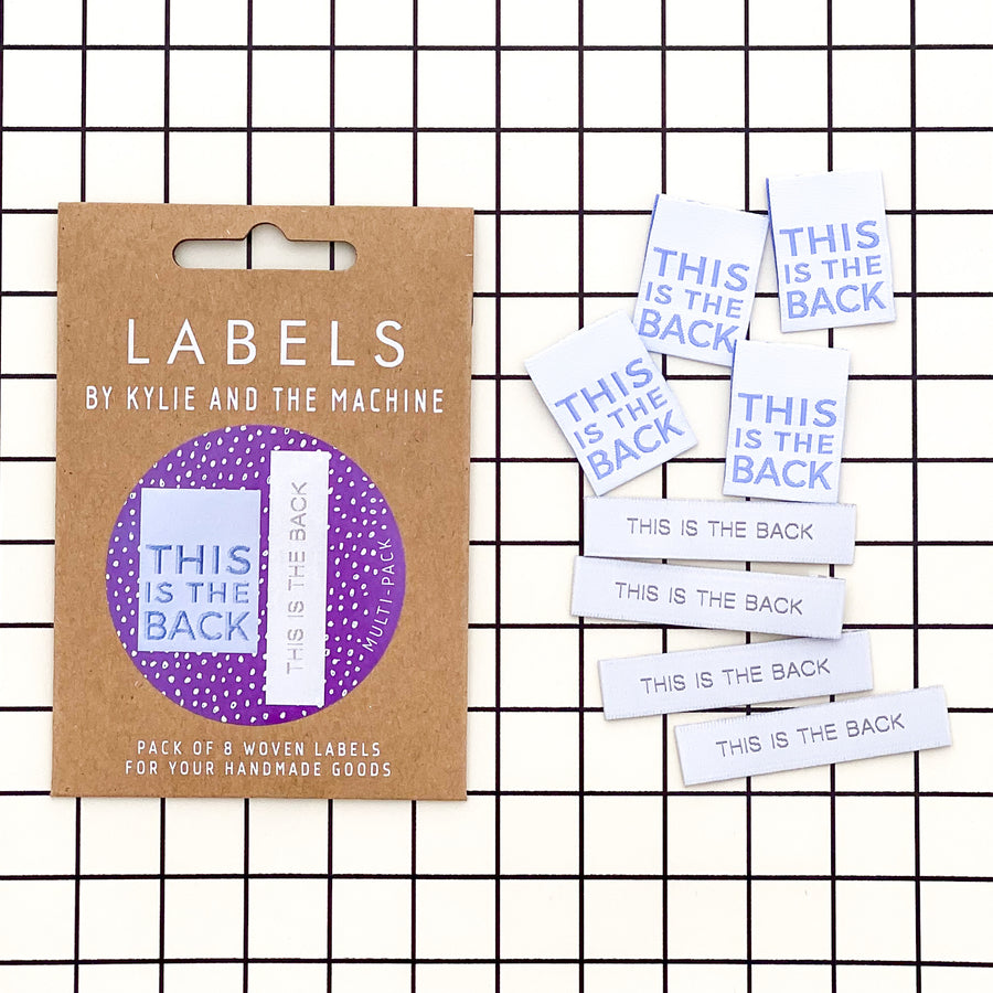 *NEW* This is The Back dual pack Labels