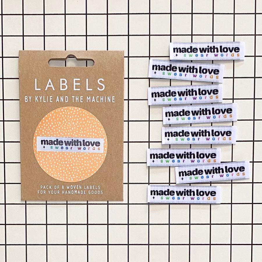 Made with Love + Swear Words Labels