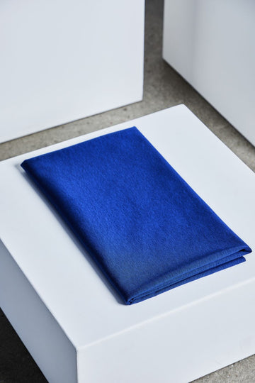 Textured Ponte Fabric - Lapis