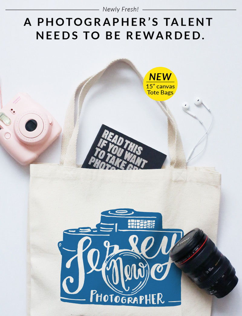 Click and Blossom Local Photographer Totes