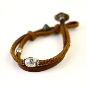 Tan Leather Bracelet - Trendivine