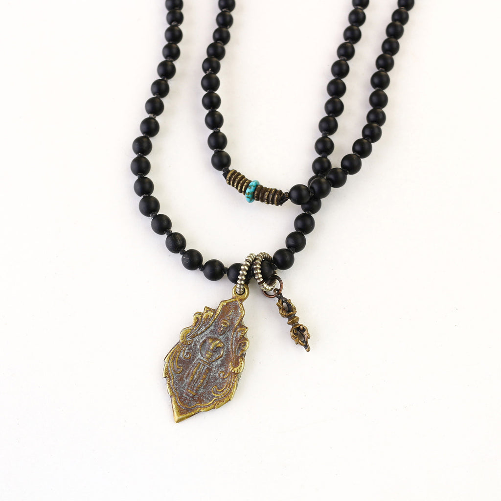 Black Onyx Necklace - Trendivine