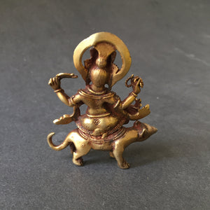 Sterling silver meditation spinner ring