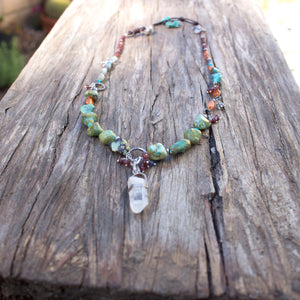 Multi stone Necklace