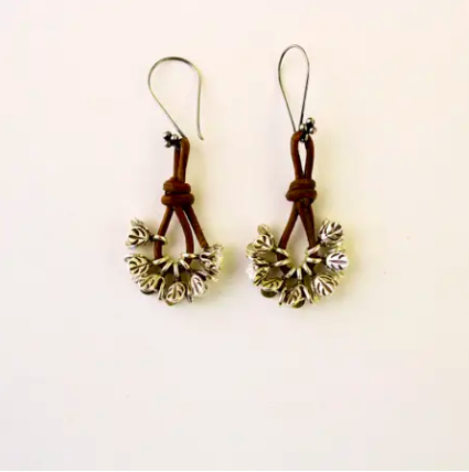 Silver buds earrings - Trendivine