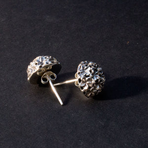 Tiny floral stud earrings