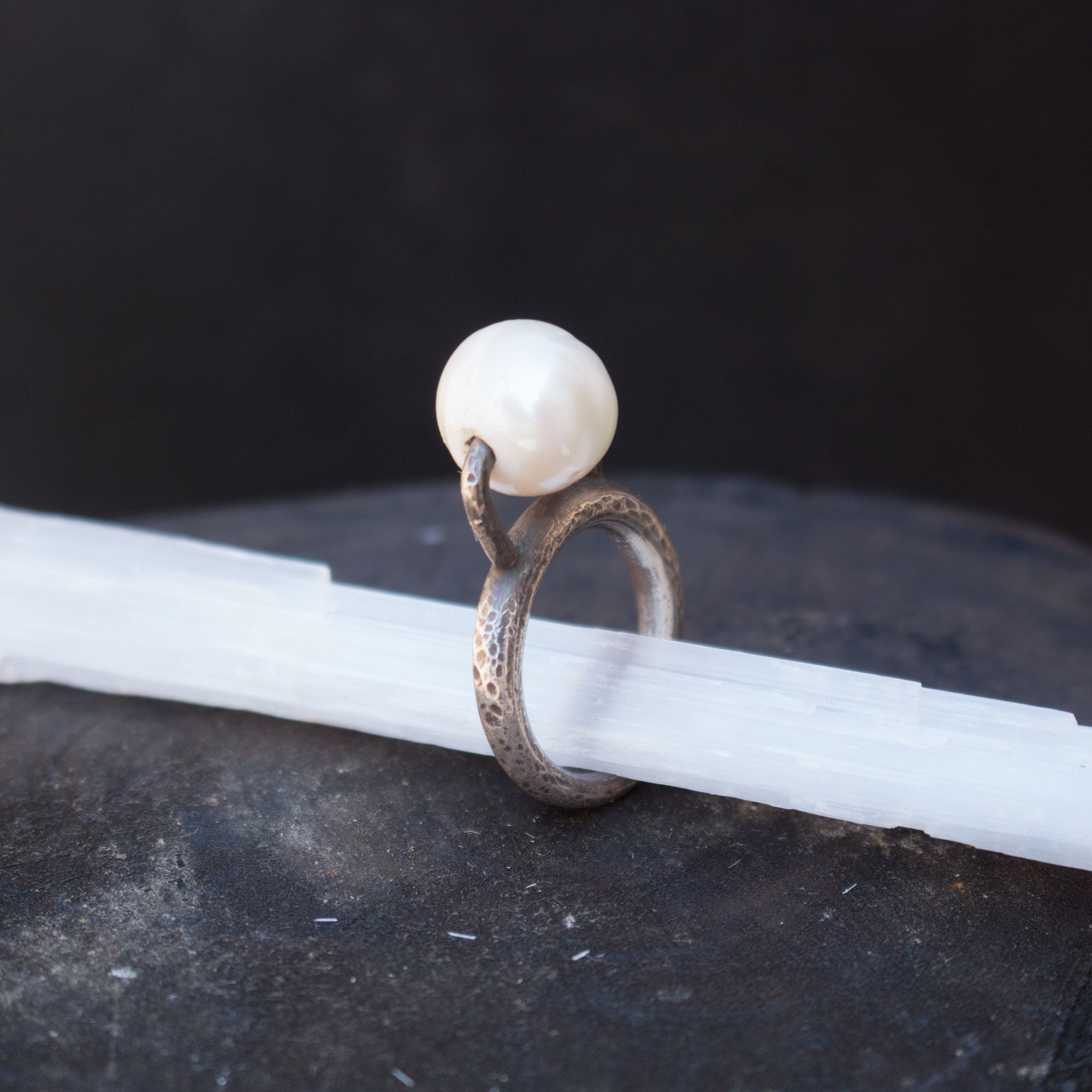 Freshwater Pearl Sterling Ring