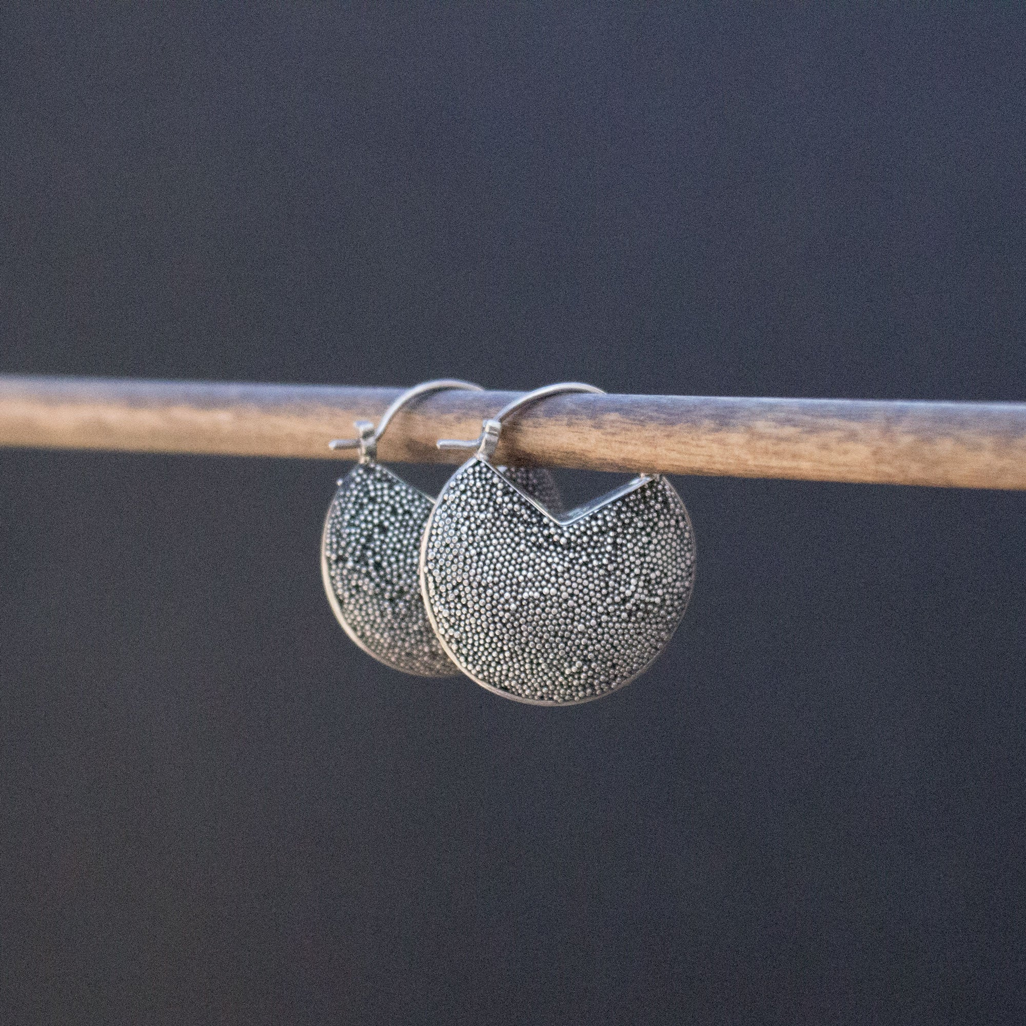 Dotted Sterling Earrings