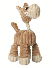 Load image into Gallery viewer, Dog toy HUGGLY ZOO Giraffe