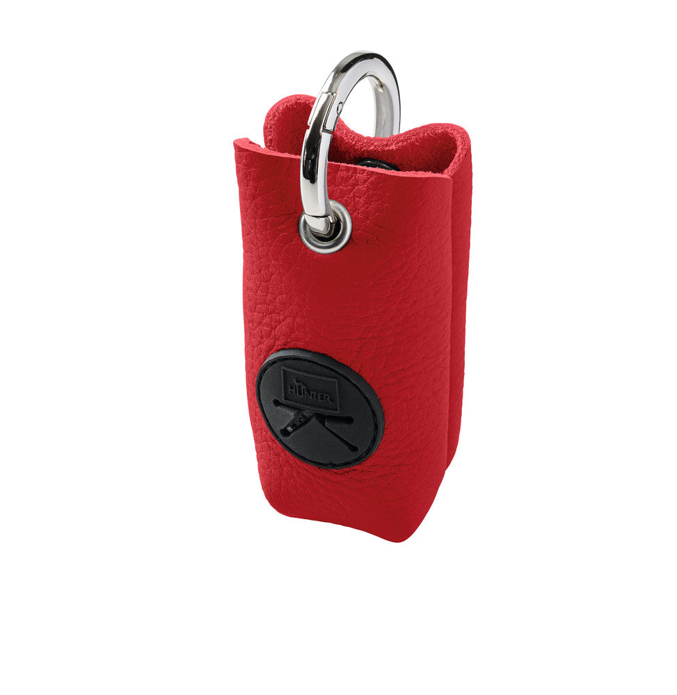Waste bag holder YUNA LUXUS (Red)