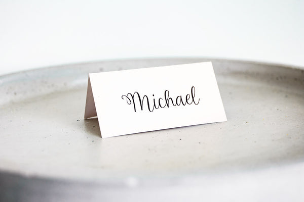 Mandy | Place cards | Wedding Stationery - ImpeccaBelle | Southern Highlands | Australia