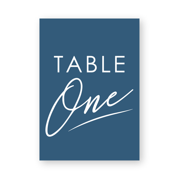 Penny | Table Numbers - ImpeccaBelle | Southern Highlands | Australia