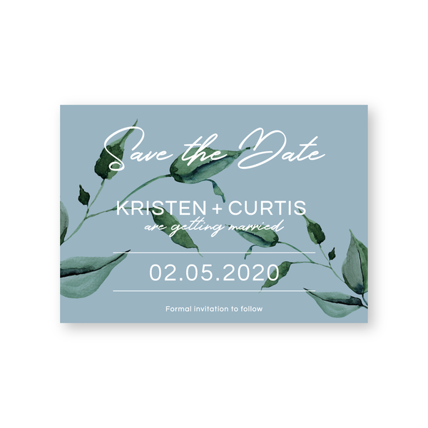Kristen | Rustic Minimalist Save The Date Cards | Bowral | Southern Highlands - ImpeccaBelle | Southern Highlands | Australia