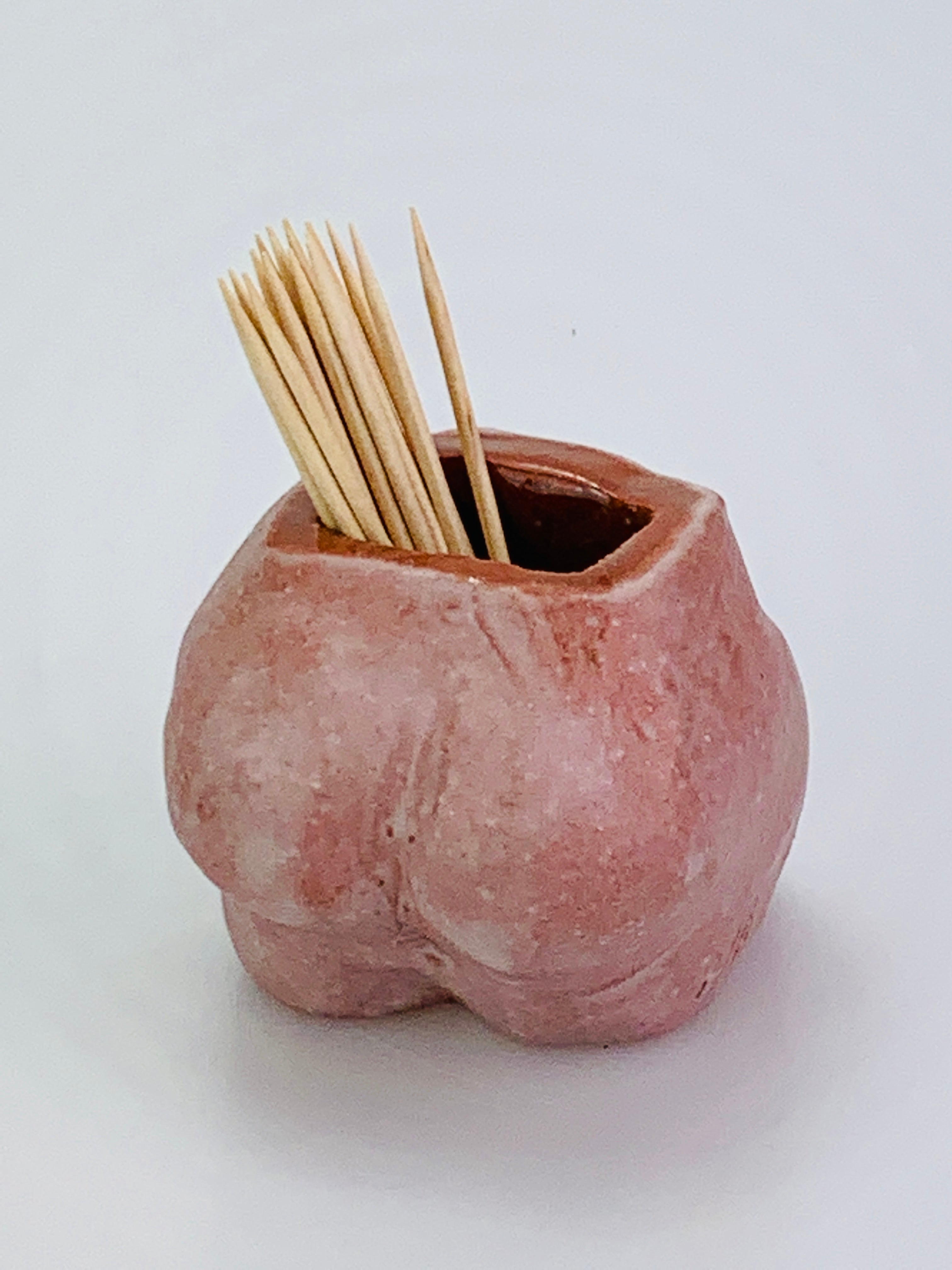 PETA BUM _ BOTTOM POT_PLANTER PINK