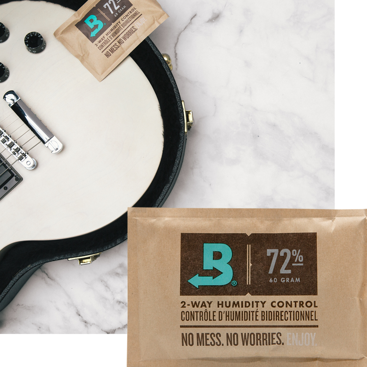 Boveda Case Seasoning 72% RH, Size 60