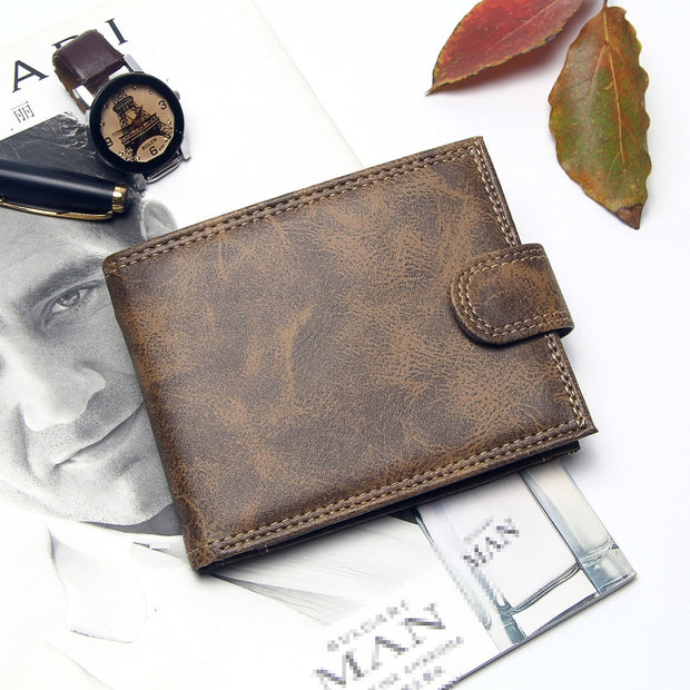 Luxury Leather Mens Wallet