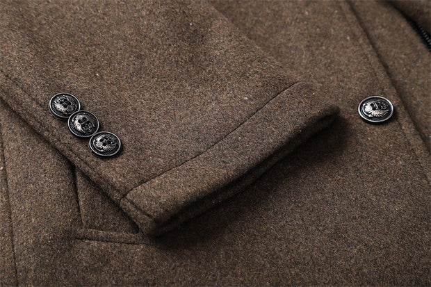 Woolen Thick Warm Coat