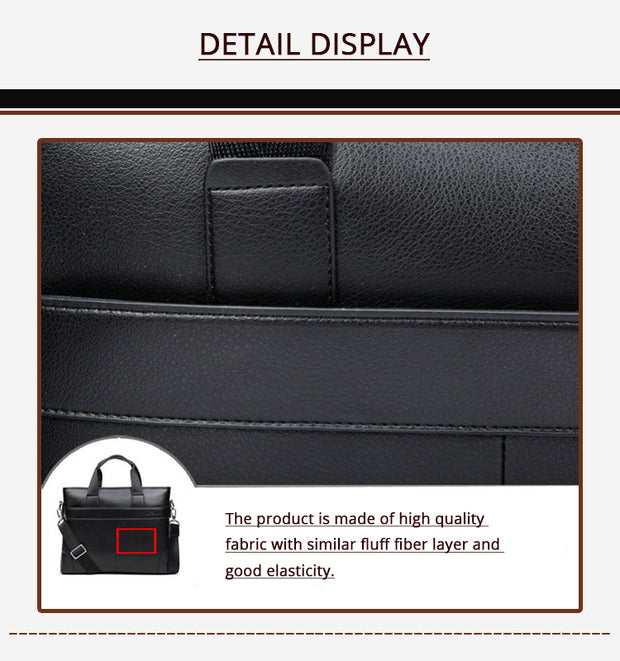 Luxury leather large Business/ Casual bag