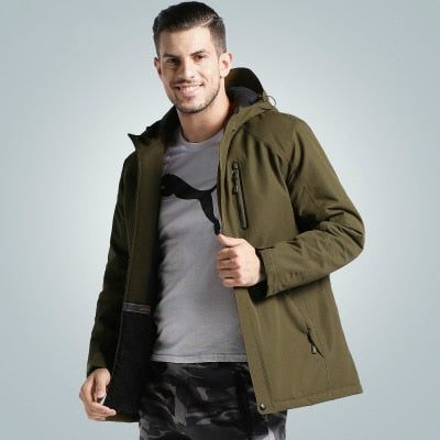 Next Generation USB Heated Waterproof All Weather Unisex Jacket