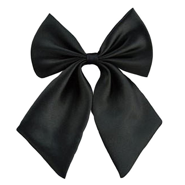 Women Cravat Tie Red Butterfly Bow Tie Black Knot Female Girl Student Neck Wear Ribbon Ties 920