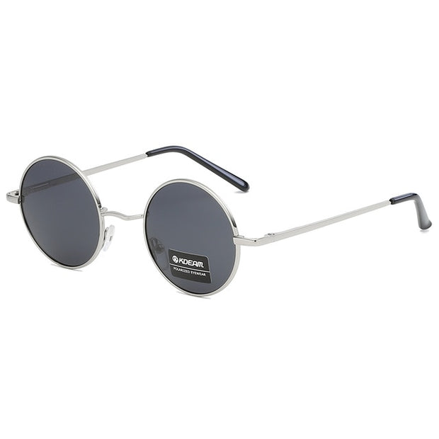 New Round Designer Coating Retro Unisex Vintage Mirrored Sunglasses