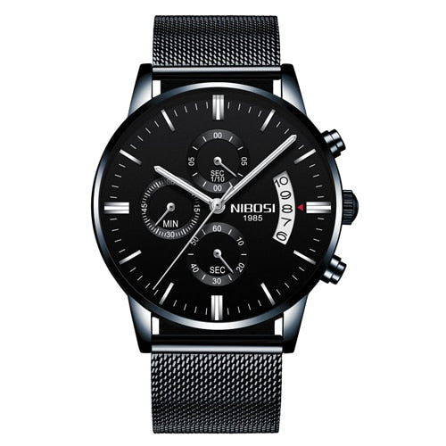 Men Waterproof Casual Luxury Brand Quartz Military Sport Watch Business Clock Men's Wristwatches