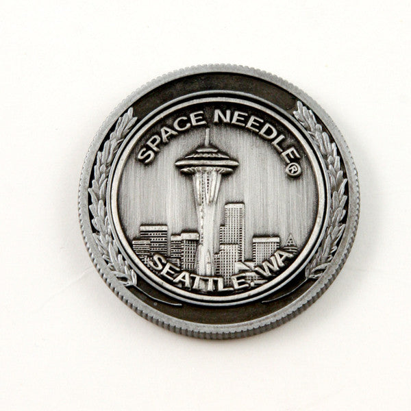 Pewter Space Needle Coin