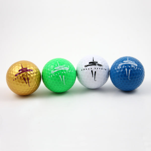 Space Needle Logo Golf Balls