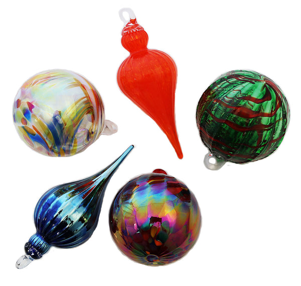 Glass Ornaments by Glasseye