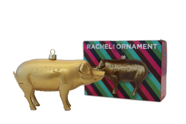 Pike Place Market Pig Ornament